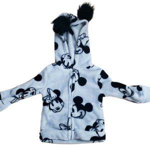 3/$20 Minnie Mickey Disney Jacket 18 months